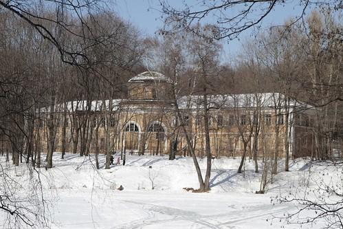 Москва: Померанцевая оранжерея в Кузьминках