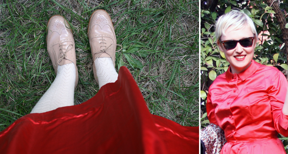 shoe detail & close-up.