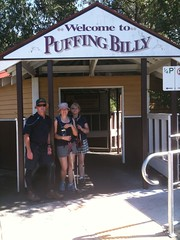 Reached Puffing BillyStation 11:25am