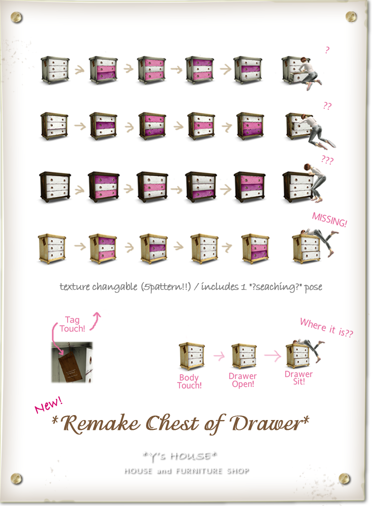 Remake Chest of Drawer.