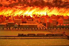 Chicago History Museum - Chicago Fire Diorama (dangaken) Tags: chicago chicagoil illinois midwest usa unitedstates windycity cityofbroadshoulders chitown canon gaken dangaken dgaken wwwflickrcomdgaken photobydangaken