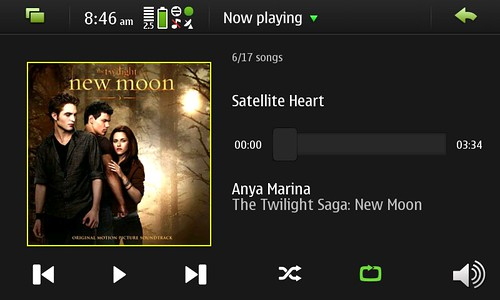 Music Player in N900