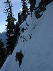 Steep traversing
