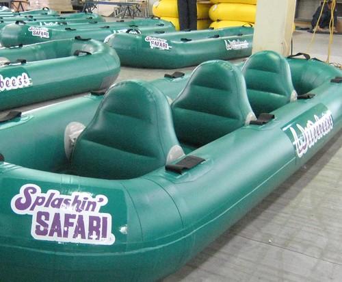 Wildebeest boats