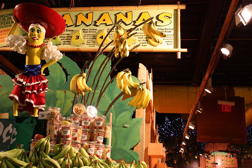 The big banana is basically ensuring banana-cannibalism.