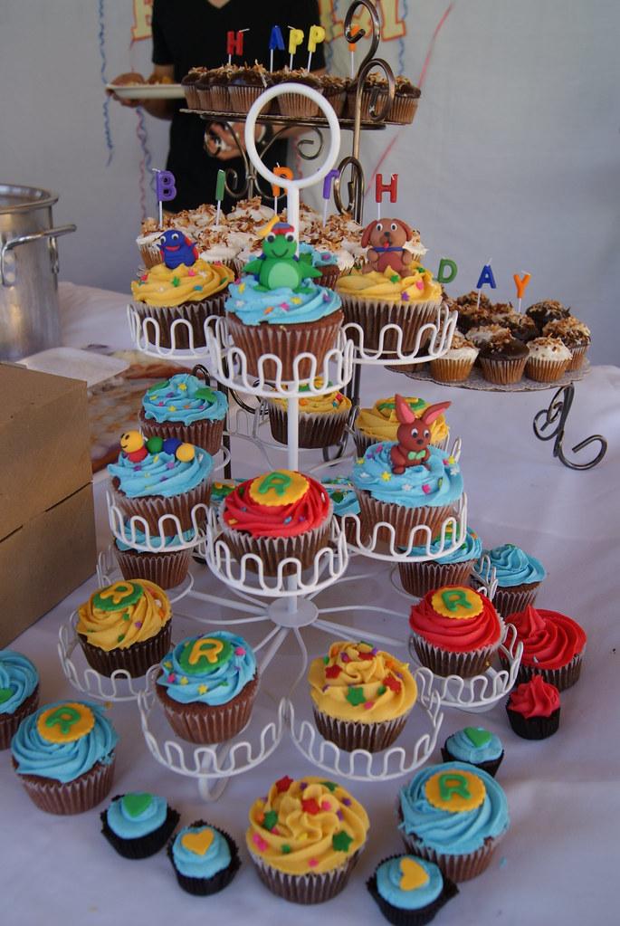 Baby Einstein Cupcakes