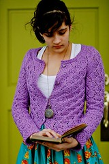 que sera (agirlinwinter) Tags: knitting cotton cardigan knitty