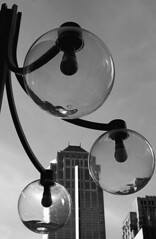 Satellites (JTContinental) Tags: seattle light urban blackandwhite building architecture downtown dof circles repetition challengeyouwinner jtcontinental