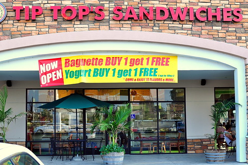 TIP TOP'S SANDWICHES