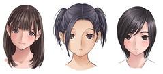 100326(1) - NDS電玩新作『LOVEPLUS+』三大女主角的嶄新造型堂堂揭曉