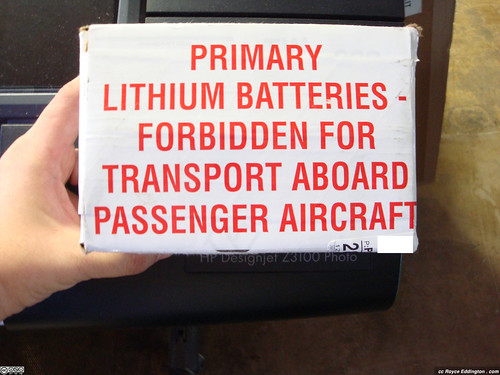 Lithium Batteries Warning