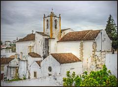 Tavira (Portugal) (Bert Kaufmann) Tags: portugal church faro kirche igreja algarve glise kerk hdr tavira sintjacobskerk igrejadesantiago