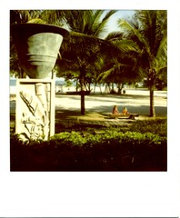 sister's (kayon) Tags: polaroid malaysia langkawi slr680 600film four seasons resort