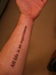 Birthday Second Tattoo