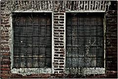... 220V6984 (*melkor*) Tags: windows art architecture geotagged experiment minimal insanity conceptual asylum barredwindows melkor trashbit twinswindows beyondwasfulloffools almostaprojectaboutinsanity