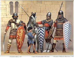 Byzantine army (cool-art) Tags: horse man rome century turkey ad medieval using greece bulgaria empire warrior wars turban 11th armour byzantine emperor crusaders