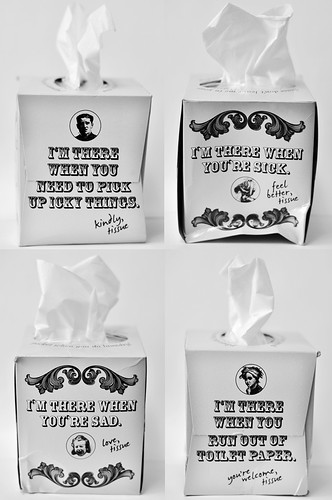 . . . And Their Tissue Speaks to Me