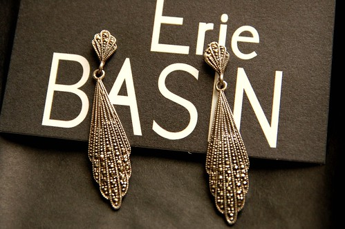Vintage earrings from Erie Basin
