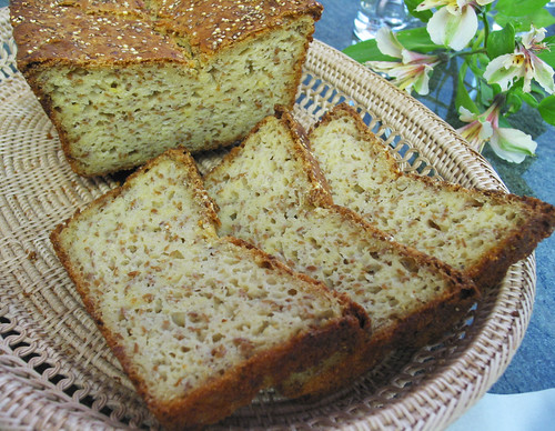 gluten-free hearty seeded bread