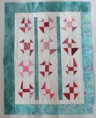 Wonky Fly Doll Quilt (Top)