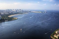 Rio de Janeiro - Aeroporto (Chantal Wagner) Tags: sea riodejaneiro landscape mar paisagem podeacar hdr urca sugarloafmountain brasilbrazil