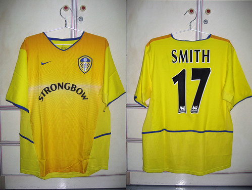 Leeds United 2002-2003 Away S/S (SMITH)
