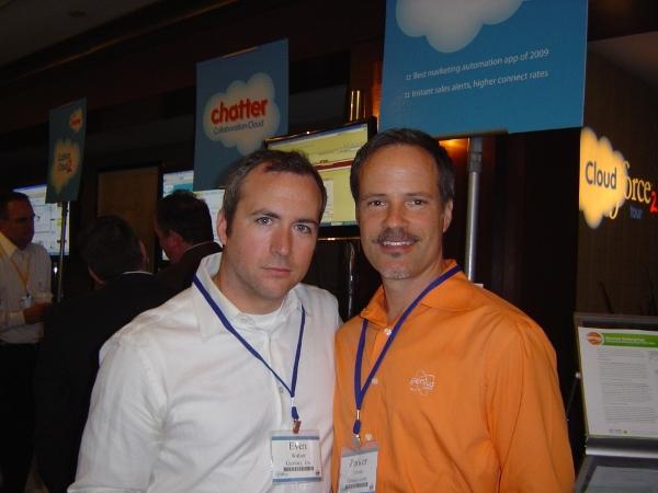 Parker Trewin and Even Walser of Genius.com