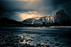 McDonald Creek - Glacier National Park - Topaz