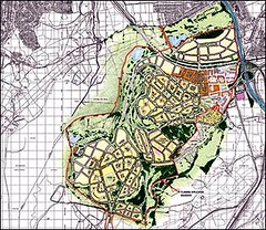 master plan for Coed Darcy (by: Robert Adam Architects via the Prince's Foundation)