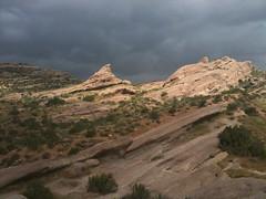 Vasquez Rocks 002 (Dan Wuh) Tags: california sandstone ipod traffic wildflowers aguadulce vasquezrocks