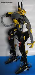 Anubis right side 2 (GoRiLLaWeR) Tags: robot amazing lego huge mecha anubis moc gorillawer