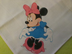 Fraldinha Minnie Mouse