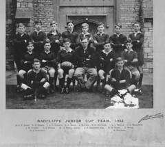 Stamford School Radcliffe Cup Team 1954