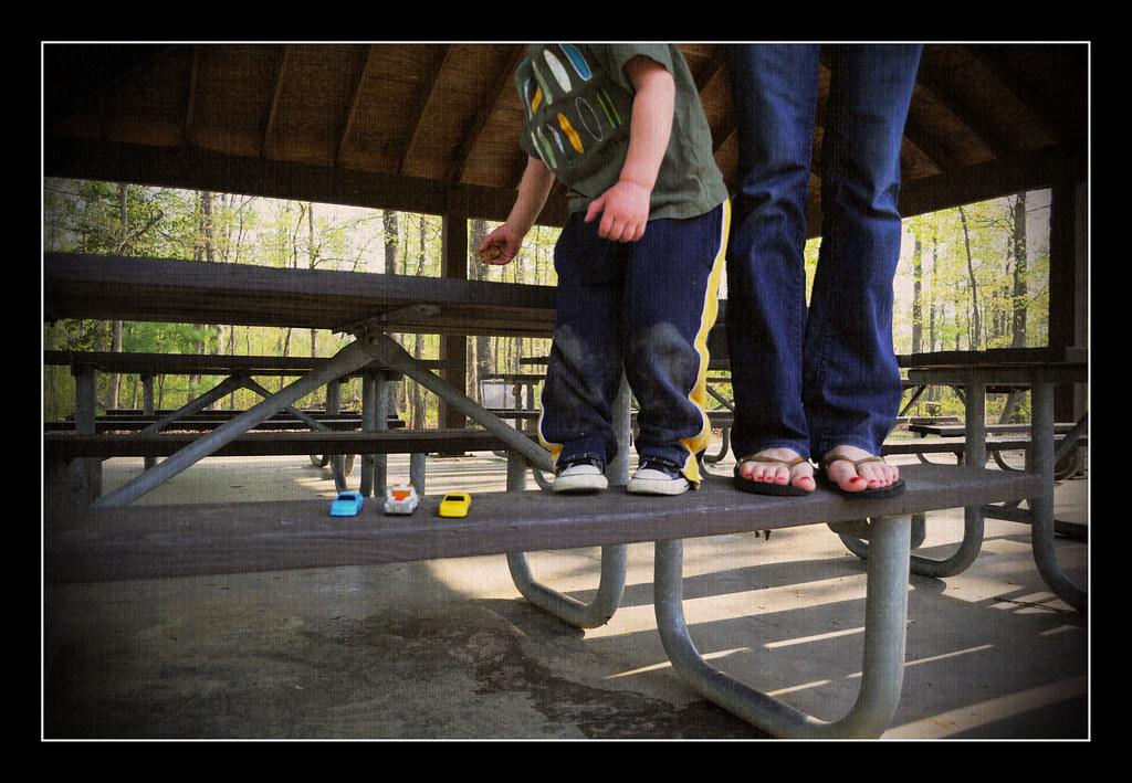 Bench Monday: Enjoyin' Everyday Life Edition {April 12 2010}
