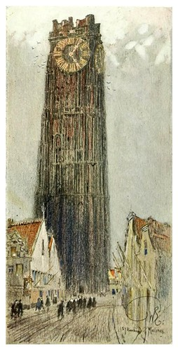 010- El campanario de San Rombauld-Malines-Vanished towers and chimes of Flanders 1916- Edwards George Wharton