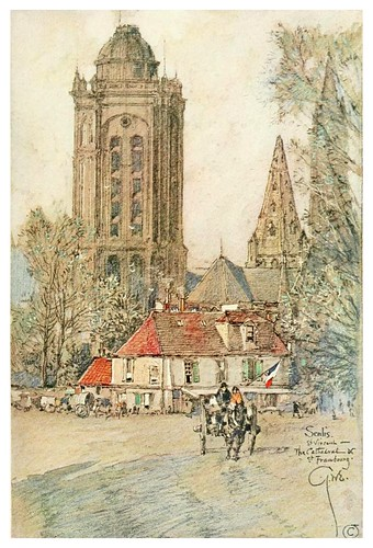003- Catedral de Senlis-Vanished halls and cathedrals of France 1917- Edwards George Wharton