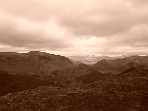 View from Thornythwaite fell 2