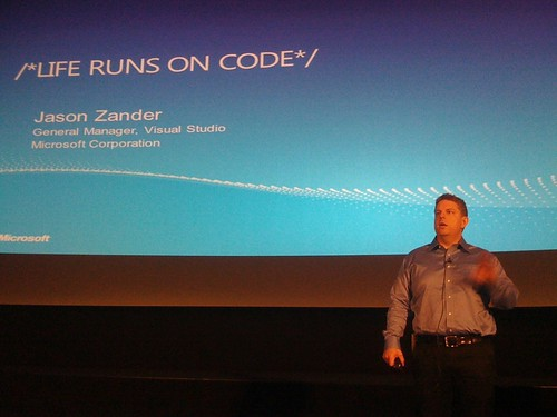 Jason Zander - Life Runs On Code