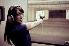 Laura Louise - Portrait (Carl W. Heindl) Tags: portrait gallery gunrange