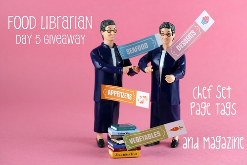National Library Week 2010 Giveaway - Chef Set Page Tags
