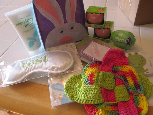 My Easter Swap Loot