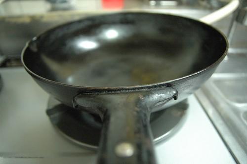 愛用の中華鍋。