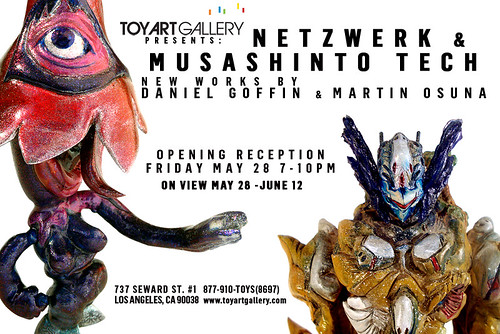 Netzwerk & Musashinto Tech - New Works by Daniel Goffin & Martin Osuna