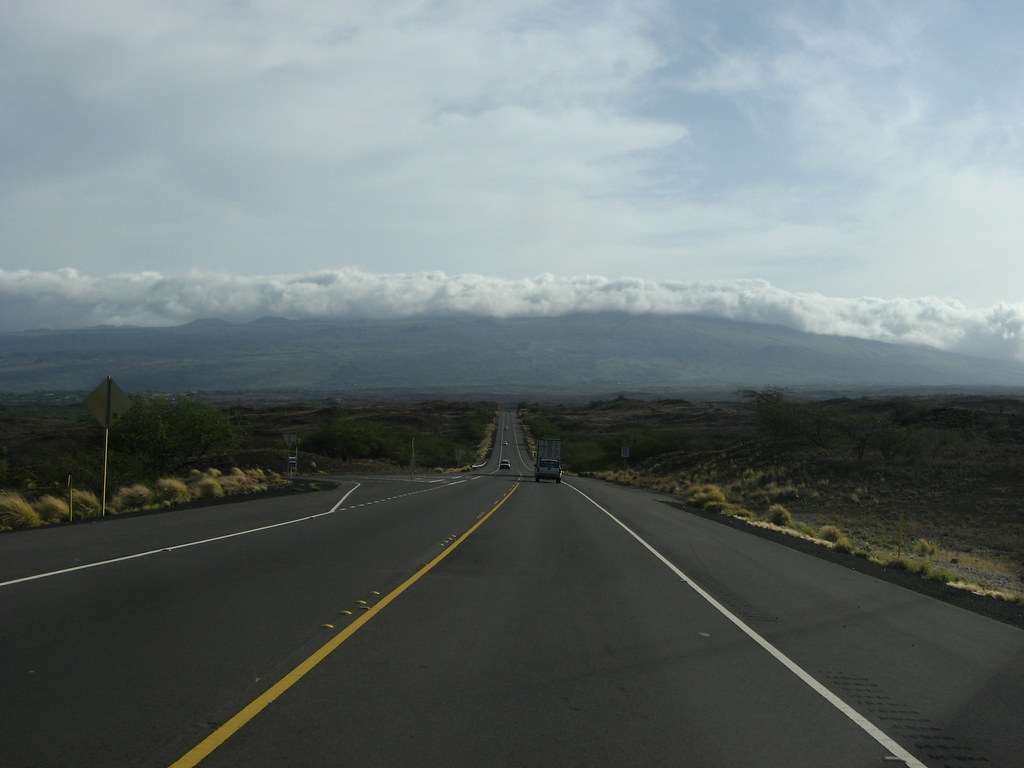 Approaching the Kohala Mountains, State Route 19, near Kawaihae, Hawaii
