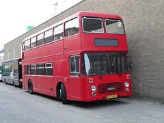 1980 Bristol VRT/5L3 double-decker (Skitmeister) Tags: auto holland bus london netherlands car vehicle oldtimer doubledecker youngtimer pkw kenteken carspot cwodlp skitmeister 74tb57 origineelnederlands odlp