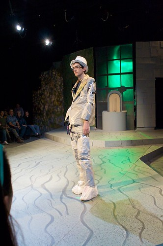 Trashion show at University of Minnesota, Morris