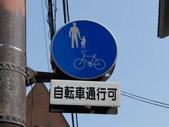 Bike Sign Kyoto