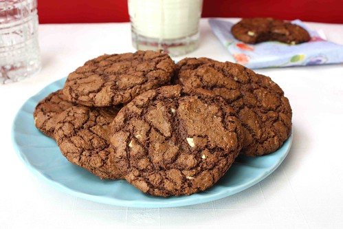 Triple Chocolate Mint Cookies Recipe