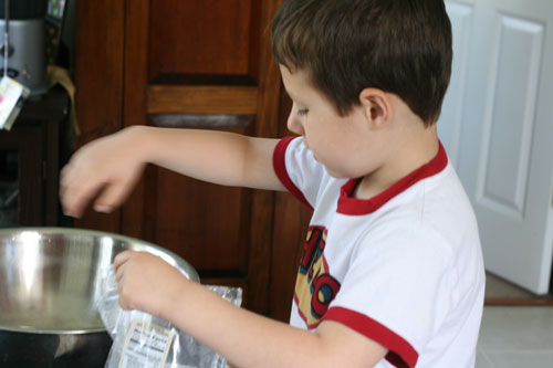 Cooking with Kids: Trail Mix