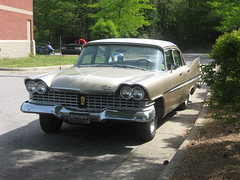 Plymouth Belvedere (NCnick) Tags: sedan boat nc tail north plymouth carolina belvedere fin 1959